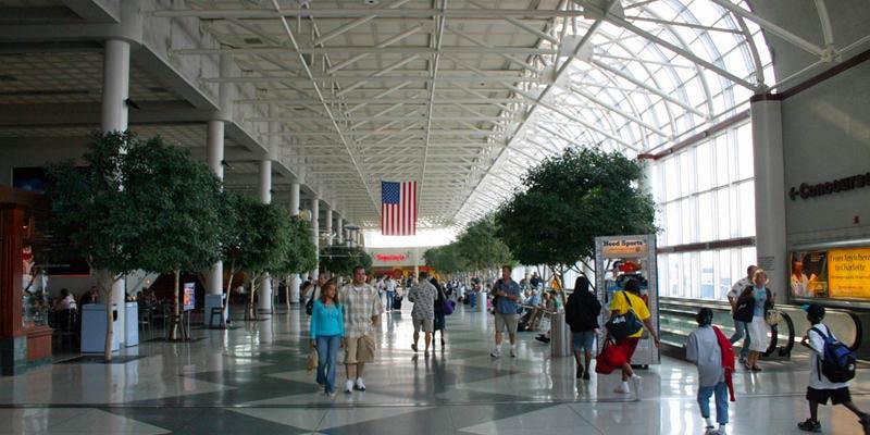 CLT CharlotteAirport MinhaSalaVIP - CLT | American Express anuncia mais um Centurion Lounge para 2019