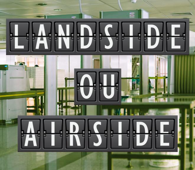 Airside ou Landside? Minha Sala VIP