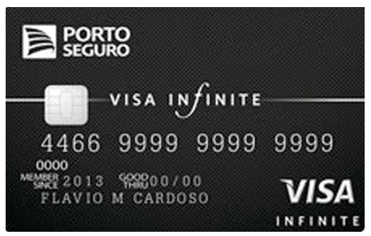 CC MinhaSalaVIP VISA PortoSeguro Infinite - Cartões de Crédito recomendados para quem quer acesso à Sala VIP