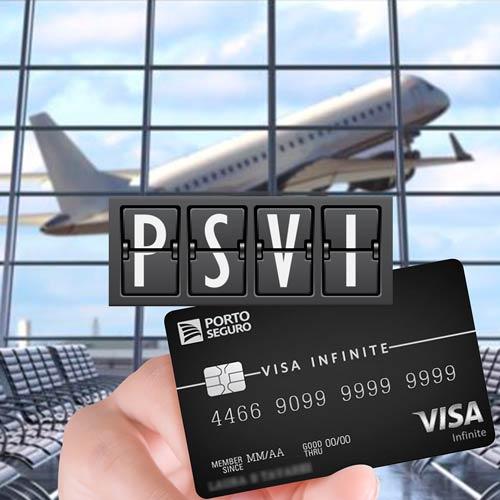 Cartão de Crédito Porto Seguro Visa Infinite Minha Sala VIP