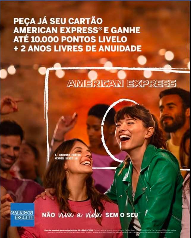 amex 2anosgratis - Oportunidade | Amex The Platinum Card com anuidade grátis por 2 anos