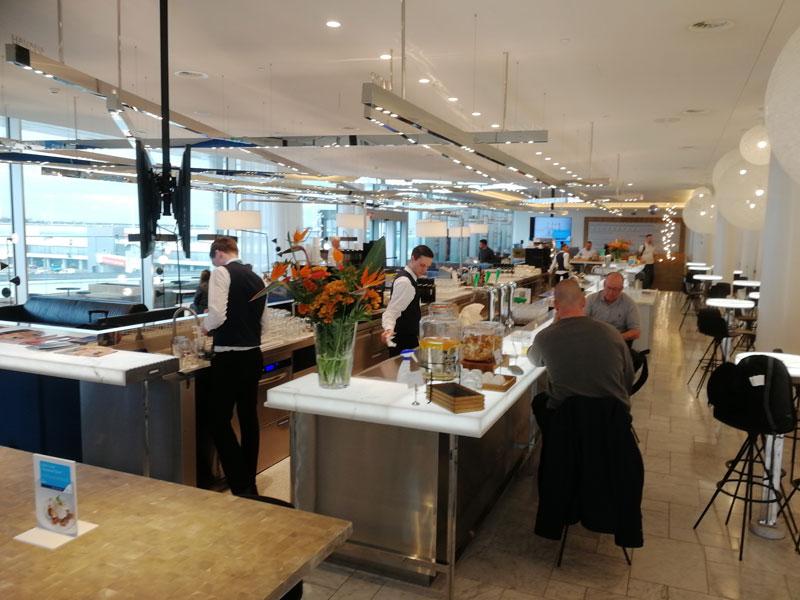 AMS KLMCrown BarSuperior - AMS | Novo KLM Crown Lounge Non-Schengen no Aeroporto Schiphol de Amsterdam