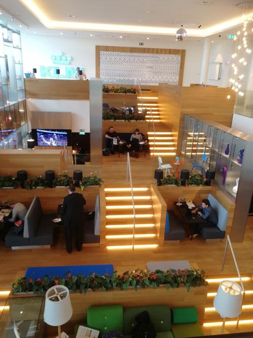 AMS KLMCrown Escada - AMS | Novo KLM Crown Lounge Non-Schengen no Aeroporto Schiphol de Amsterdam