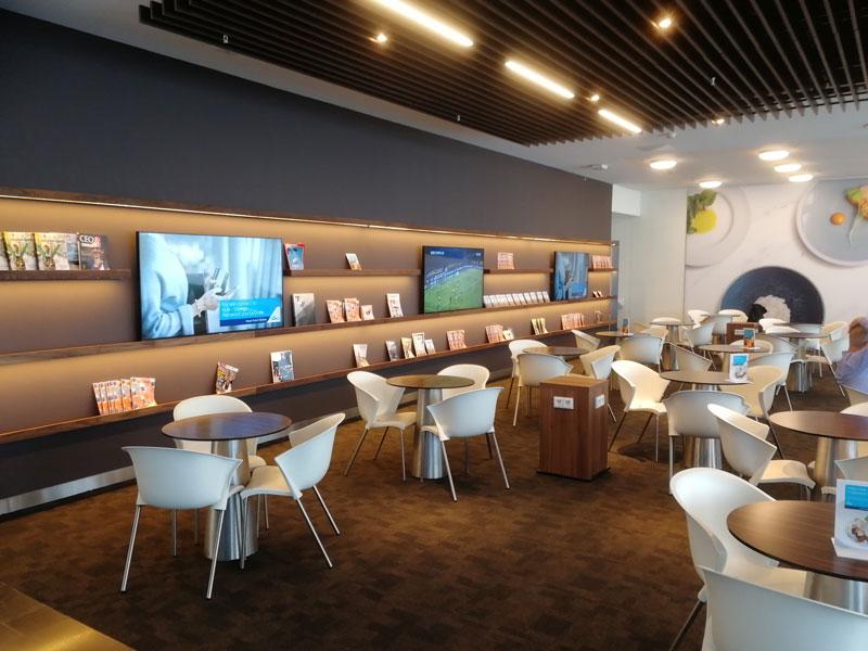 AMS KLMCrown Mesinhas - AMS | Novo KLM Crown Lounge Non-Schengen no Aeroporto Schiphol de Amsterdam