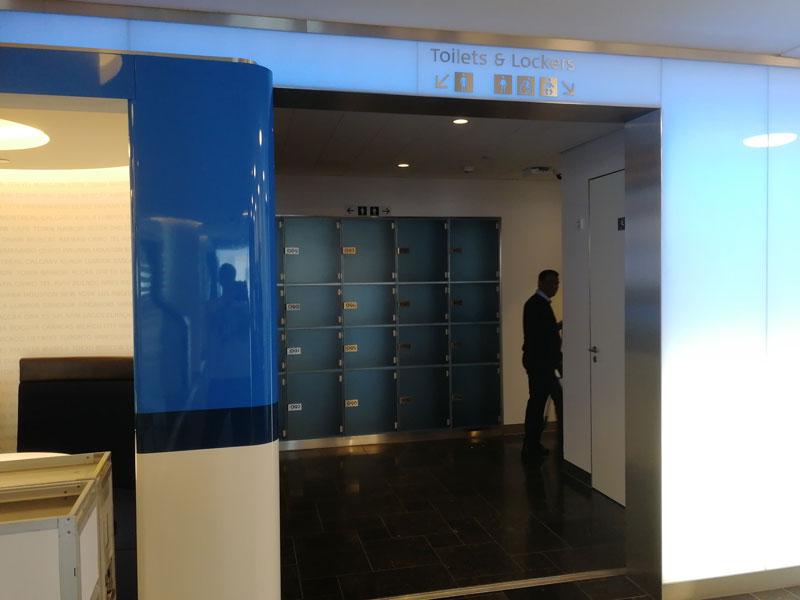 AMS KLMCrown Toilets - AMS | Novo KLM Crown Lounge Non-Schengen no Aeroporto Schiphol de Amsterdam