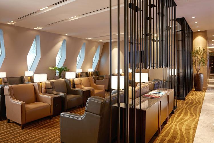 ABH PlazaAlDhabi Refurbished2 - Plaza Premium Al Dhabi Lounge em Abu Dhabi é reinaugurado após reforma