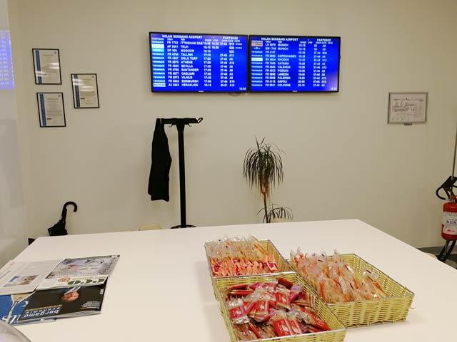 BGI LandsideVIP Snacks - BGY   Landside VIP Lounge no Aeroporto Caravaggio em Bergamo (Milão)