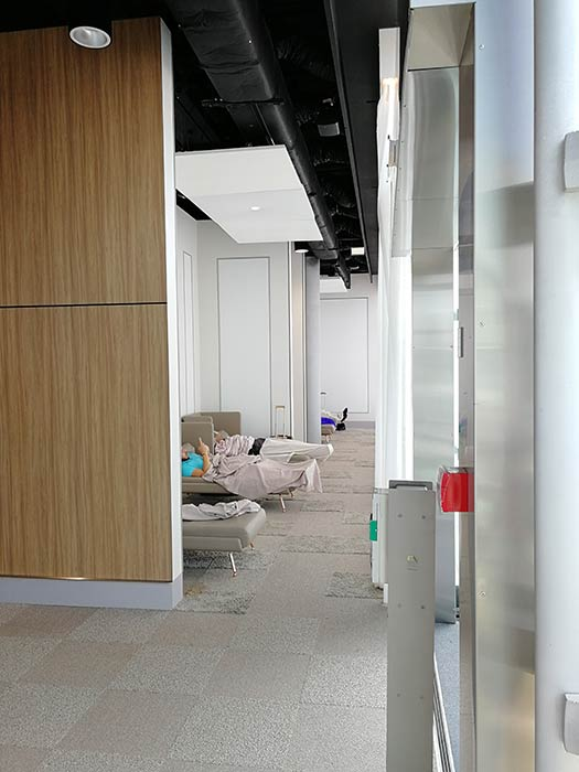 CDG FreeLounge Espriguicadeiras - CDG | Aeroporto de Paris possui lounge gratuito aos passageiros