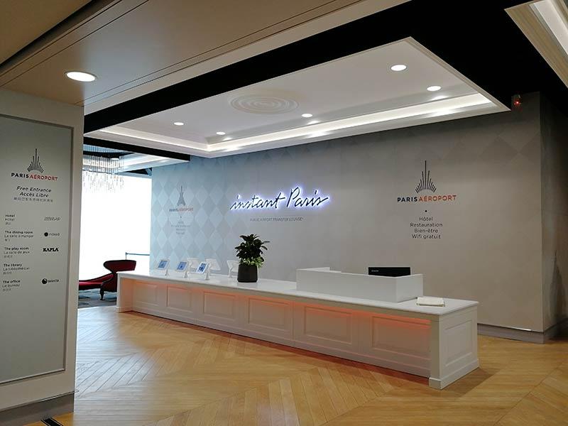 CDG FreeLounge Portaria - CDG | Aeroporto de Paris possui lounge gratuito aos passageiros