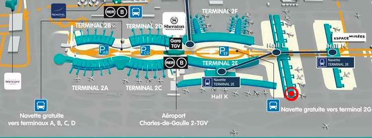 MapaCDG - CDG | Aeroporto de Paris possui lounge gratuito aos passageiros