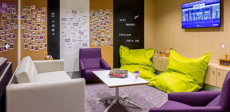 CDG Yotel Oficial 2 - CDG | Yotel Lounge no Aeroporto Charles de Gaulle em Paris