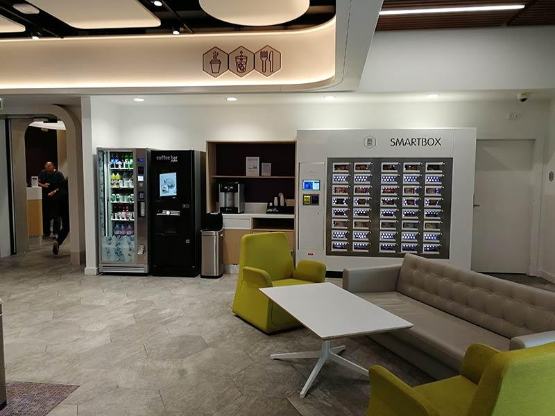 CDG Yotel Snacks2 - CDG | Yotel Lounge no Aeroporto Charles de Gaulle em Paris