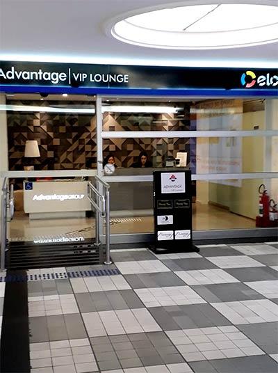CGH Advantage Fachada - CGH | Advantage VIP Lounge (Elo) no Aeroporto de Congonhas