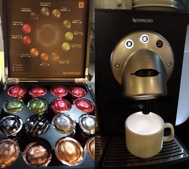 CGH Advantage Nespresso - CGH | Advantage VIP Lounge (Elo) no Aeroporto de Congonhas