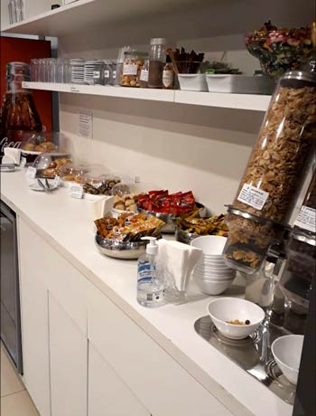 CGH Advantage Snacks - CGH | Advantage VIP Lounge (Elo) no Aeroporto de Congonhas
