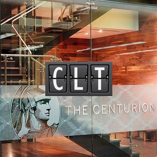 CLT CharlotteAirportCenturion MinhaSalaVIP - CLT | American Express anuncia mais um Centurion Lounge para 2019