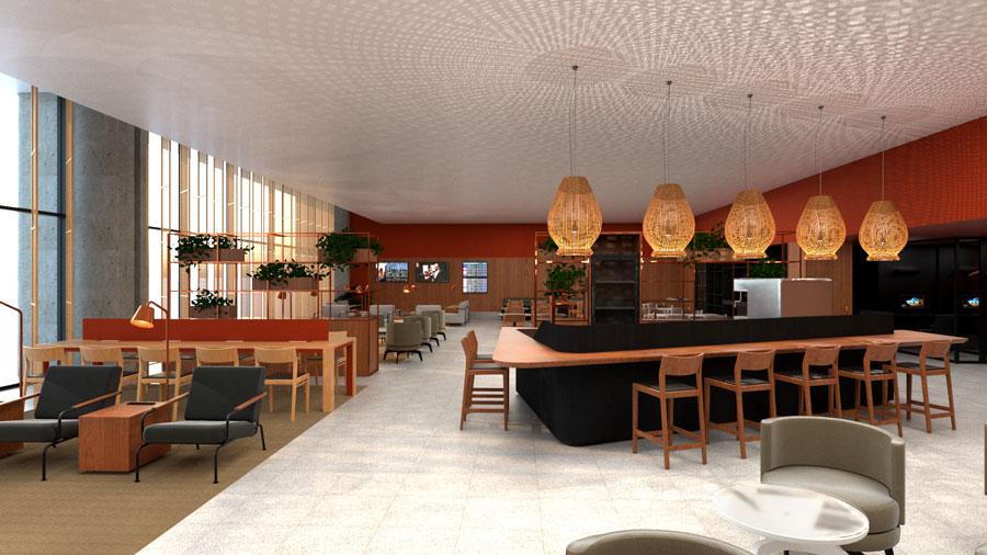 CNF AmbaarDom Geral - CNF | Imagens exclusivas do Ambaar Lounge Doméstico em Confins