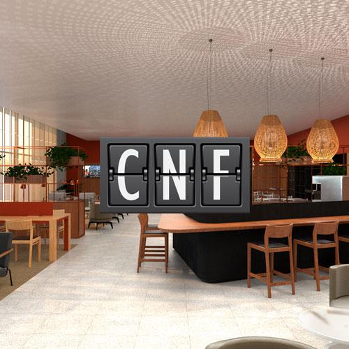CNF AmbaarDom MinhaSalaVIP - CNF | Salas VIP Ambaar em Confins confirmam parceria com cartões Bradesco