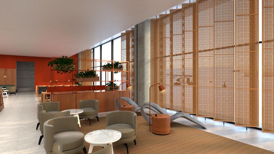 CNF AmbaarDom Poltronas - CNF | Imagens exclusivas do Ambaar Lounge Doméstico em Confins