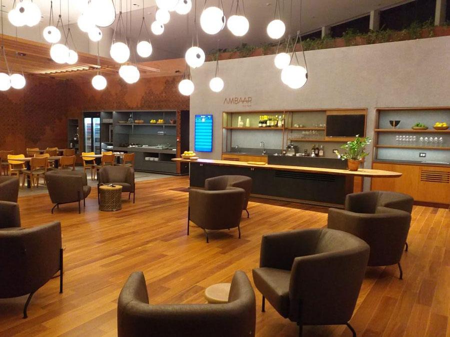CNF AmbaarINTL Inaug1 - Novos lounges são esperados para o segundo semestre, inclusive no Brasil