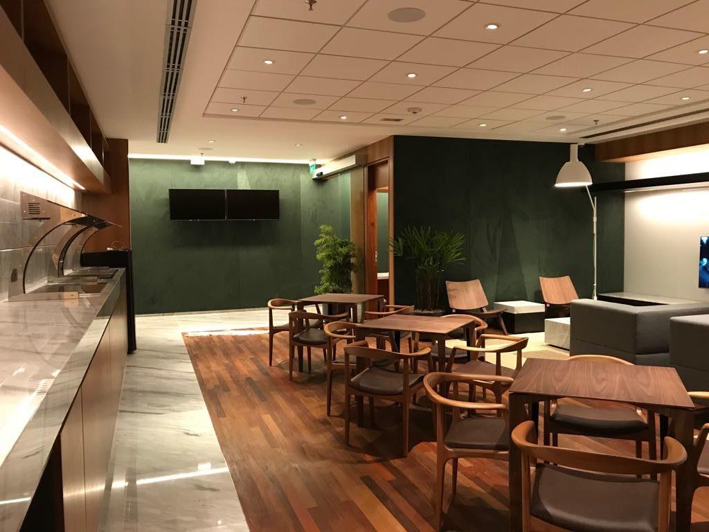 CWB BradescoLounge Assessoria1 1024x768 - Guia completo das salas VIP do American Express Bradesco