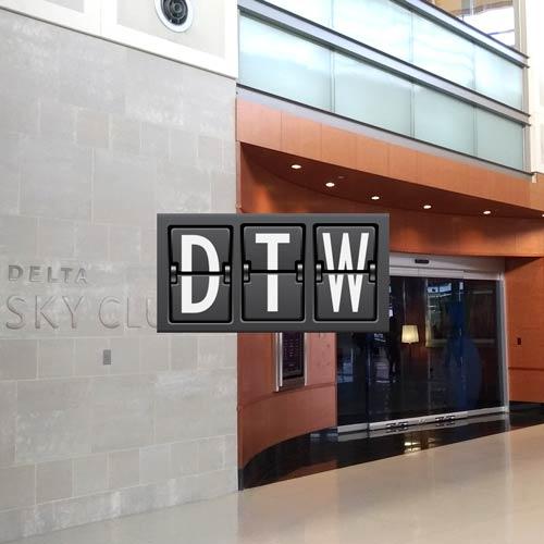 Delta Sky Club Detroit