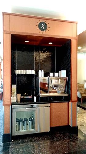 DTW Delta SouthCafe - Conheça as três Salas Delta Sky Club no Aeroporto de Detroit