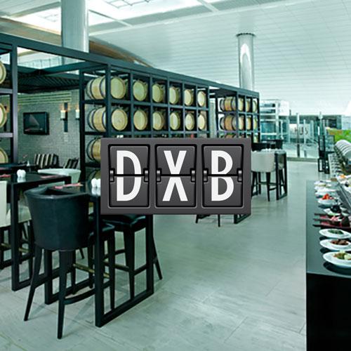 DXB Ahlan Lounge Aeroporto Internacional de Dubai Sala VIP