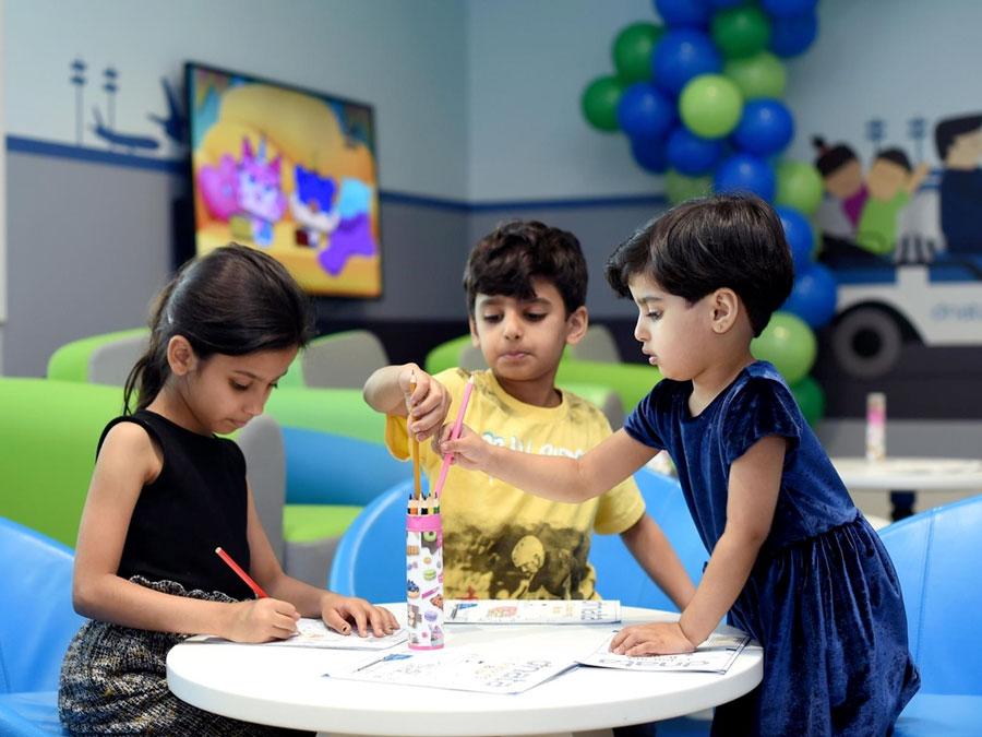 DXB DnataChildrensLounge 001 - DXB | Aeroporto de Dubai tem um lounge só para crianças