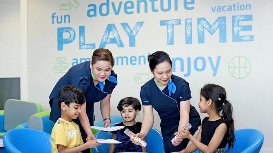 DXB DnataChildrensLounge 002 - DXB | Aeroporto de Dubai tem um lounge só para crianças