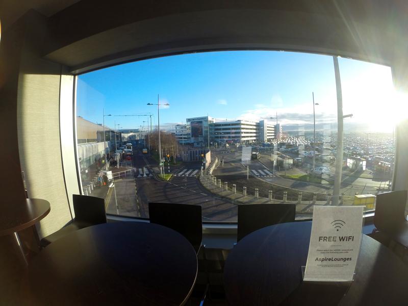 EDI Aspire JanelaEstacionamento MinhaSalaVIP - EDI | Aspire Lounge Edinburgh International Airport