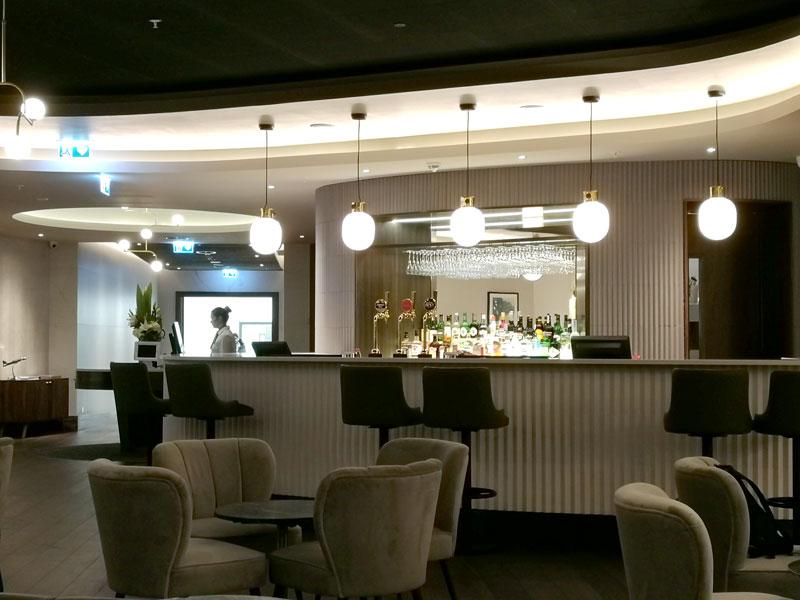 EDI no1lounge bar - EDI | Novo No1 Lounge no Aeroporto de Edinburgh na Escócia