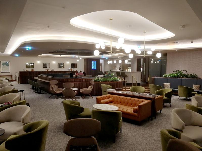 EDI no1lounge overview - EDI | Novo No1 Lounge no Aeroporto de Edinburgh na Escócia