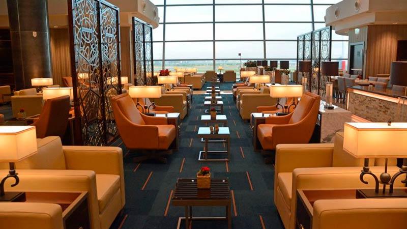 FCO EmiratesLoungeFCO Overview - FCO | Emirates inaugura lounge no Aeroporto Fiumicino em Roma