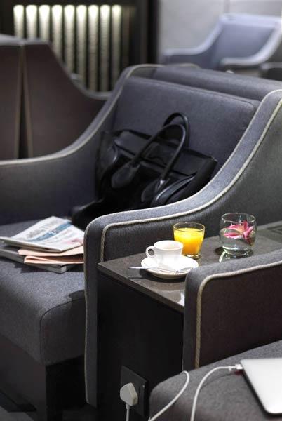 FCO PlazaPremium Seats2 - FCO | Novo Plaza Premium Lounge Rome no Aeroporto Leonardo da Vinci
