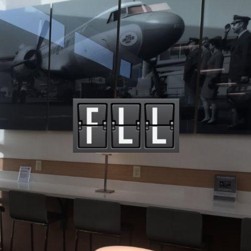 FLL UnitedClub MinhaSalaVIP - FLL | United inaugura sala VIP no Aeroporto de Fort Lauderdale