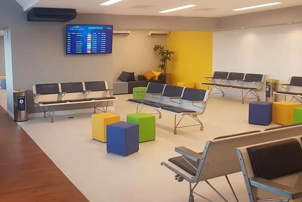 FLN Lounge Geral - FLN | Acabou a gritaria para anunciar voos no Floripa Airport