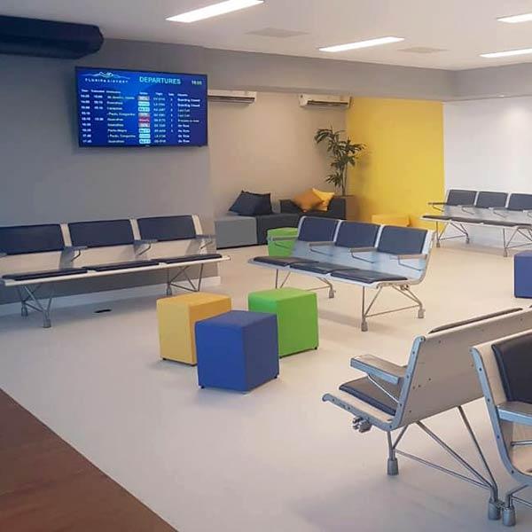 FLN Lounge Overview - FLN   Floripa Airport Lounge já está em funcionamento