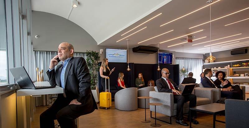 FLN Lounge Overview Cris - FLN | Saiba tudo sobre o novo Floripa Airport Lounge