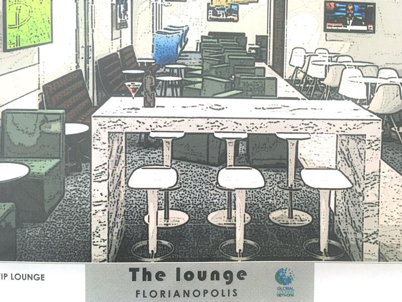 FLN Lounge projeto - FLN | Exclusivo: Tudo que já sabemos sobre o The Lounge by GNL no Floripa Airport