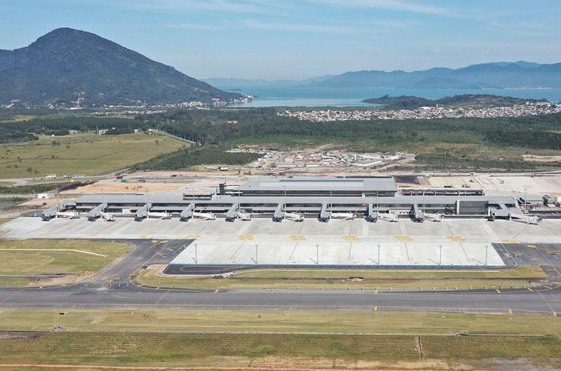 FLN Lounge terminal - FLN | Exclusivo: Tudo que já sabemos sobre o The Lounge by GNL no Floripa Airport
