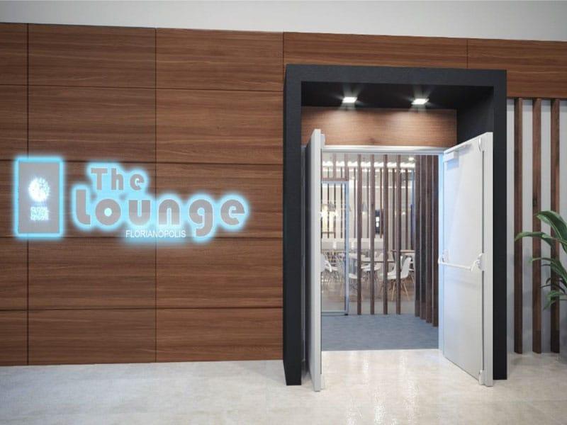 FLN TheLounge Entrada - EXCLUSIVO – FLN | Imagens inéditas do The Lounge Florianópolis