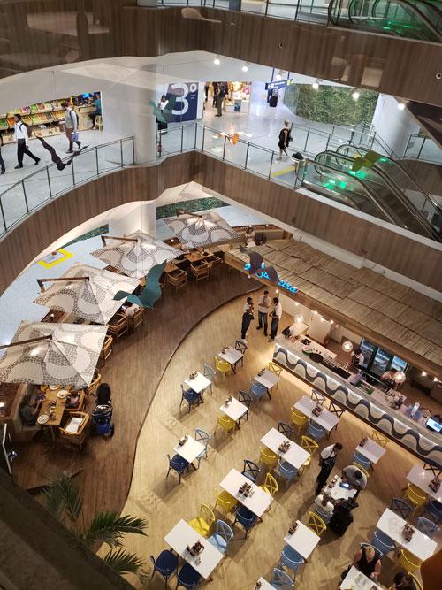 GIG PlazaINTL vistainterna - GIG | Plaza Premium Lounge Internacional no Aeroporto RIOGaleão