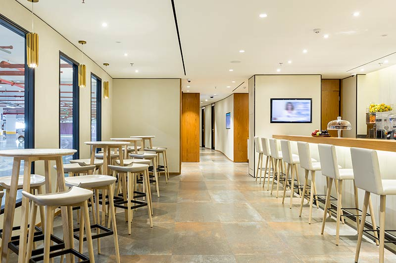 GIG PlazaPremium Arrivals - GIG | Plaza Premium Lounges no Aeroporto do Galeão Rio de Janeiro