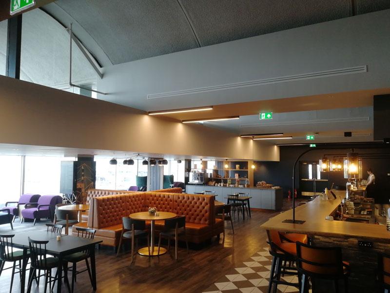 GLA LomondLounge Geral - GLA | Lomond Lounge no Aeroporto de Glasgow