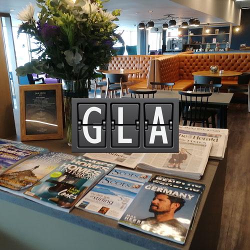 GLA LomondLounge MinhaSalaVIP - GLA | Lomond Lounge no Aeroporto de Glasgow