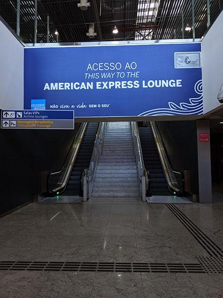 GRU amexlounge ACESSO - GRU | American Express Lounge no Aeroporto de Guarulhos