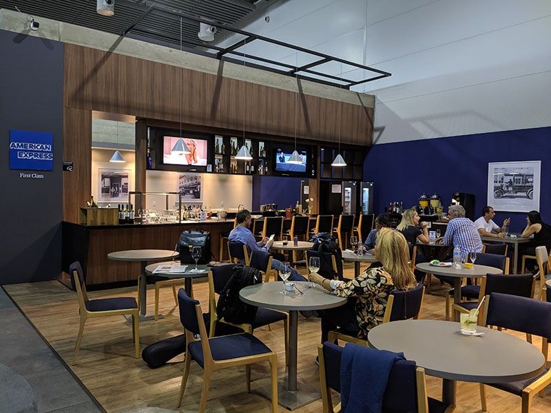 GRU amexlounge overview - GRU | American Express Lounge no Aeroporto de Guarulhos