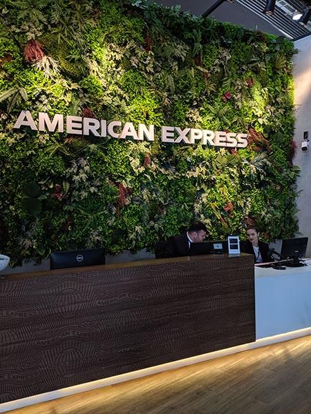 GRU amexlounge recepcaop - GRU | American Express Lounge no Aeroporto de Guarulhos