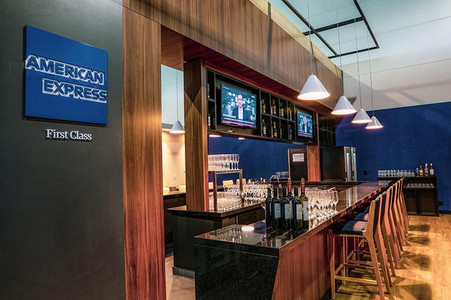 GRU NovoAMEX Bar1 - GRU | American Express Lounge é inaugurado oficialmente em Guarulhos